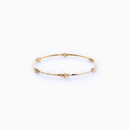 دستبند طلا 18 عیار زنانه مدل BL0022