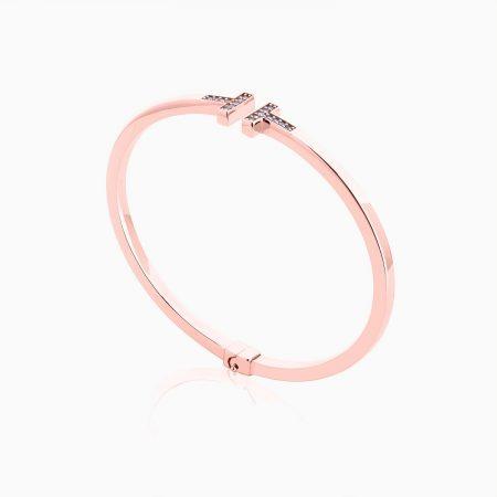 دستبند طلا 18 عیار تیفانی مدل BL0027