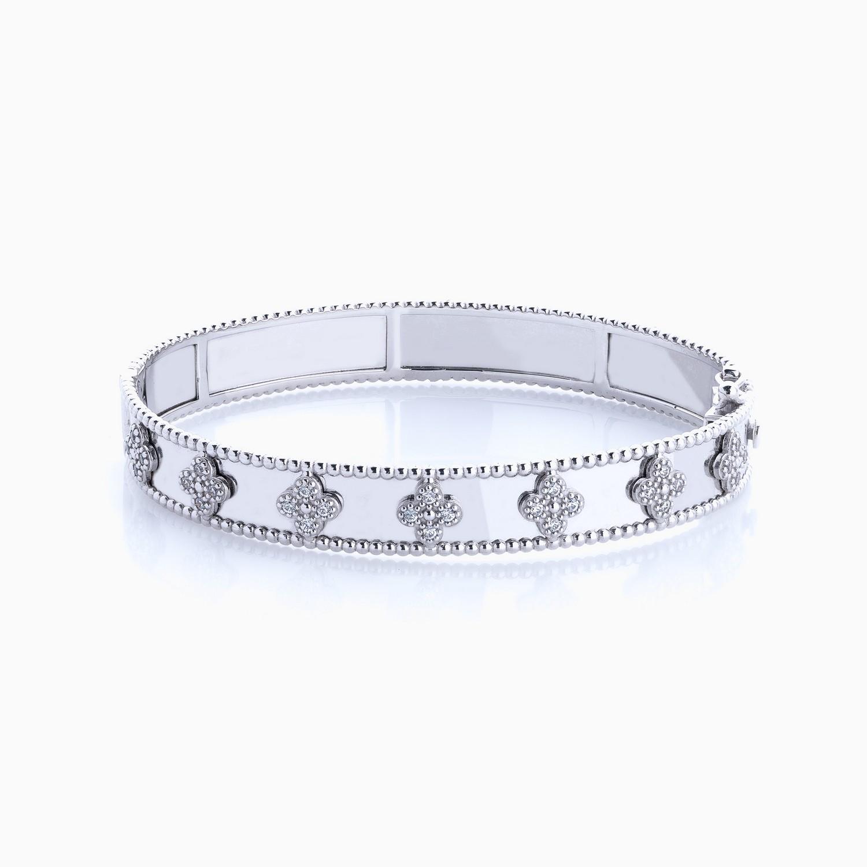 دستبند طلا 18 عیار زنانه مدل BL0028