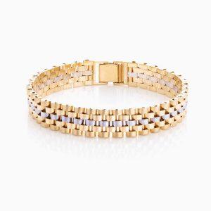 دستبند طلا 18 عیار زنانه مدل BL0031