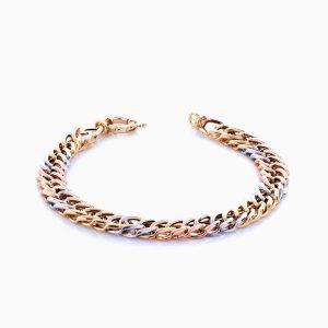 دستبند طلا 18 عیار زنانه مدل BL0034