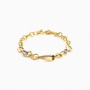 دستبند طلا 18 عیار مدل BL0052