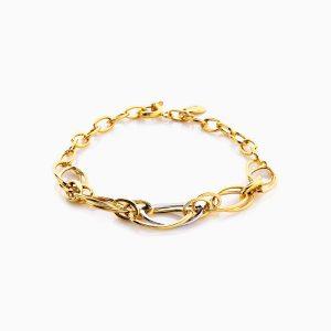 دستبند طلا 18 عیار زنانه مدل BL0053