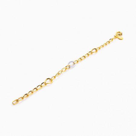دستبند طلا 18 عیار مدل BL0054