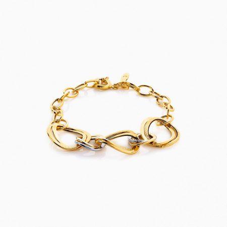 دستبند طلا 18 عیار زنانه مدل BL0055