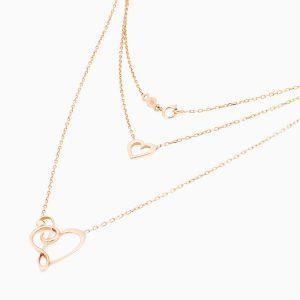 گردنبند طلا 18 عیار زنانه مدل NL0018