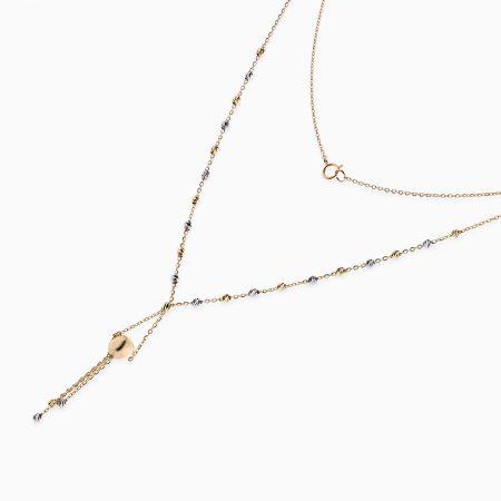 گردنبند طلا 18 عیار زنانه مدل NL0027