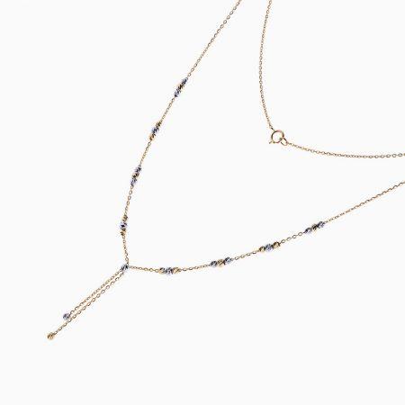 گردنبند طلا 18 عیار زنانه مدل NL0030