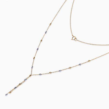 گردنبند طلا 18 عیار زنانه مدل NL0034