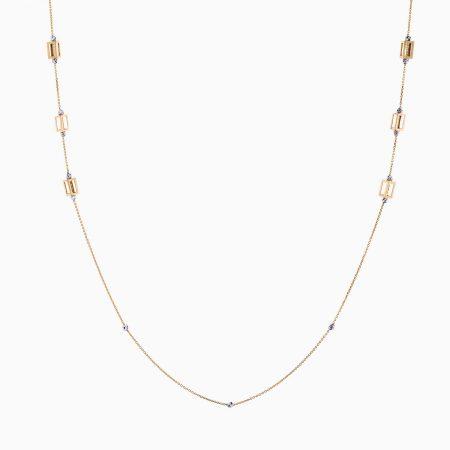 گردنبند طلا 18 عیار زنانه مدل NL0046
