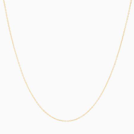 گردنبند طلا 18 عیار زنانه مدل NL0057