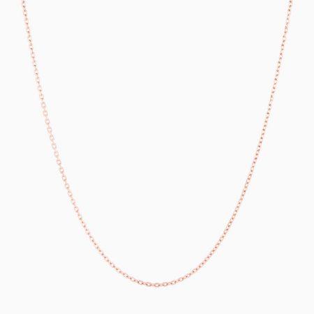گردنبند طلا 18 عیار زنانه مدل NL0060