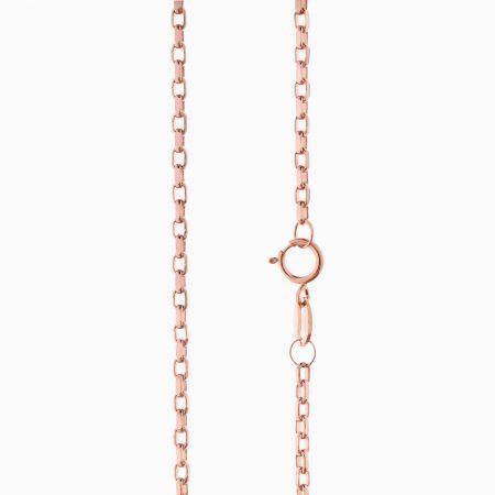 گردنبند طلا 18 عیار زنانه مدل NL0062