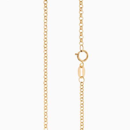 گردنبند طلا 18 عیار زنانه مدل NL0066