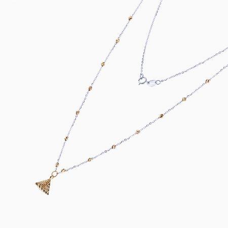 گردنبند طلا 18 عیار زنانه مدل NL0083