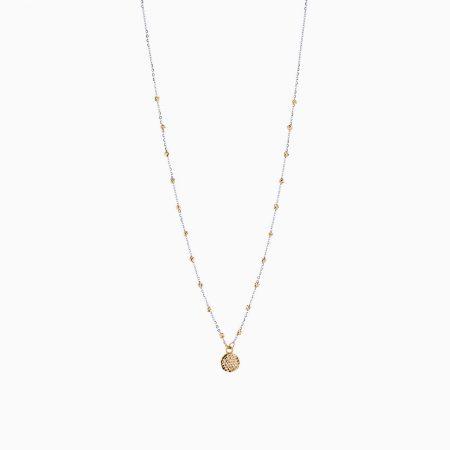 گردنبند طلا 18 عیار زنانه مدل NL0086