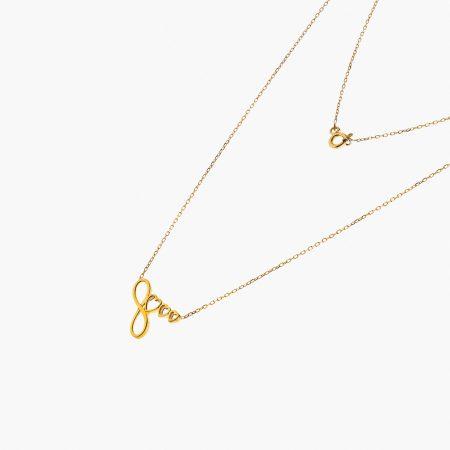 دستبند طلا 18 عیار زنانه مدل BL0010