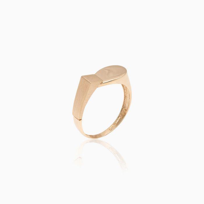 انگشتر طلا 18 عیار زنانه مدل RG0010