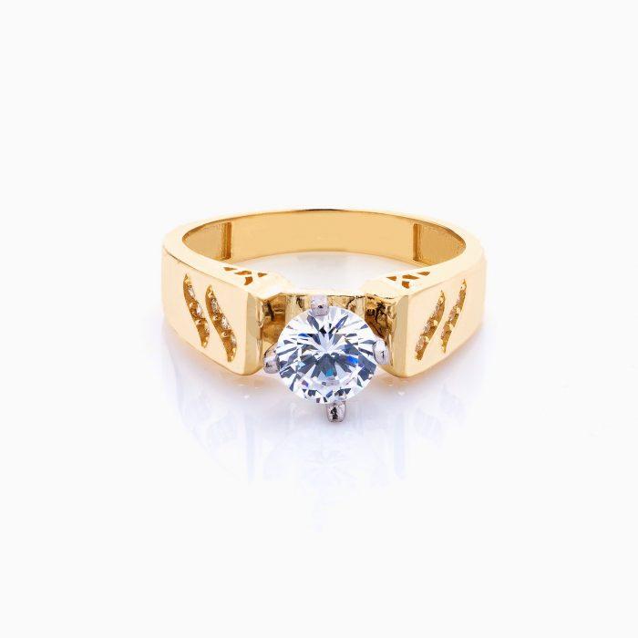 انگشتر طلا 18 عیار زنانه مدل RG0074