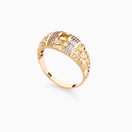 انگشتر طلا 18 عیار زنانه مدل RG0083