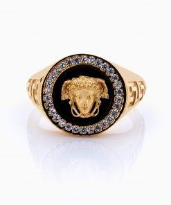 انگشتر طلا 18 عیار مردانه مدل RG0092