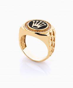 انگشتر طلا 18 عیار مردانه مدل RG0093