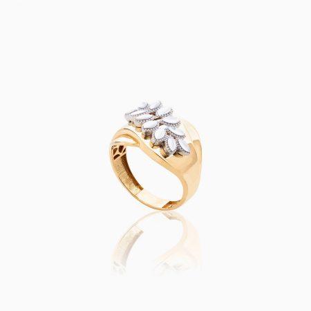 انگشتر طلا 18 عیار زنانه مدل RG0097