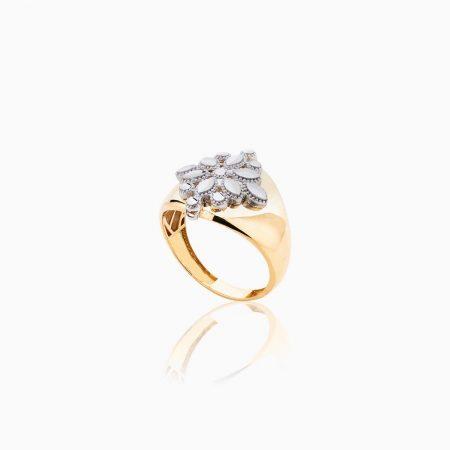 انگشتر طلا 18 عیار زنانه مدل RG0101