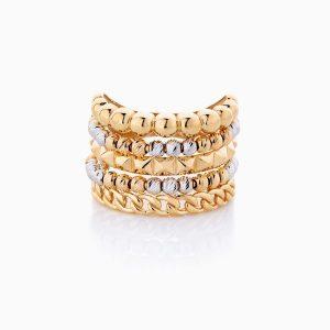 انگشتر طلا 18 عیار زنانهRG0112