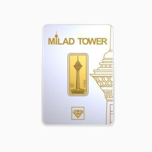 شمش طلا 24 عیار 3 گرمی برج میلاد