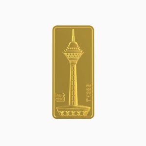 شمش طلا 24 عیار 5 گرمی برج میلاد
