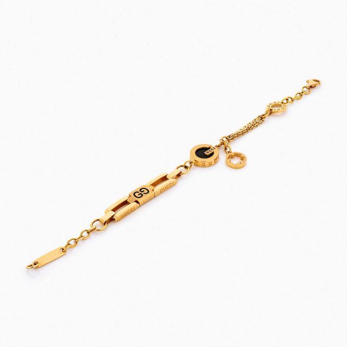دستبند طلا 18 عیار زنانه کد BL0100