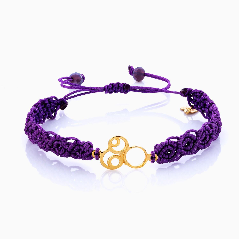 دستبند طلا 18 عیار دخترانه اسپورت مدل ابر و باد کد BL0108