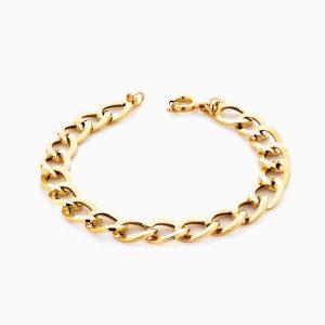 دستبند طلا 18 عیار زنانه مدل کارتیر کد BL0125