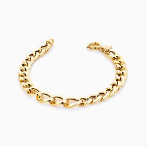 دستبند طلا 18 عیار زنانه مدل کارتیر کد BL0126
