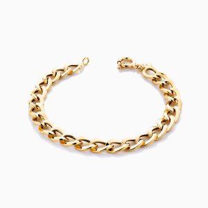 دستبند طلا 18 عیار زنانه مدل کارتیر کد BL0127