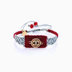 دستبند طلا 18 عیار دخترانه اسپورت مدل شنل کد BL0149