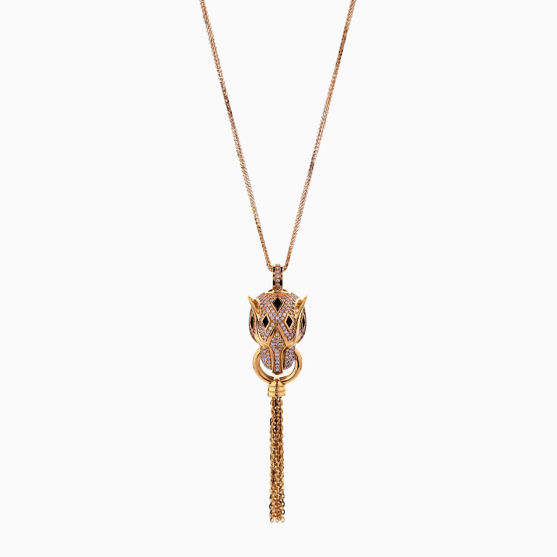گردنبند طلا 18 عیار کد NL0121