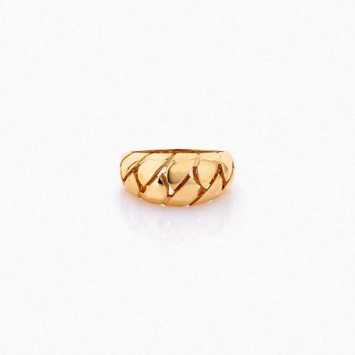 انگشتر طلا 18 عیار زنانه مدل کارتیر کد RG0169