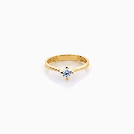 انگشتر زنانه طلا 18 عيار کد RG0240