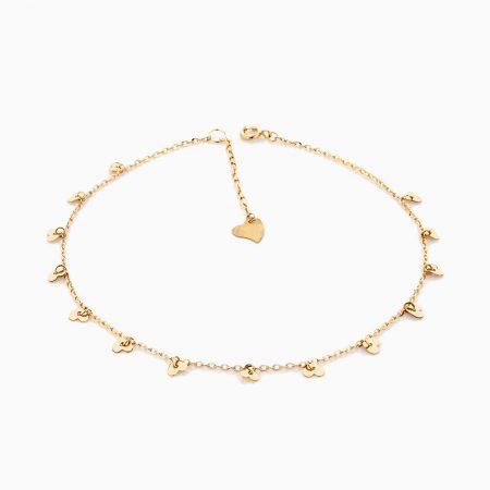 پابند طلا 18 عيار زنانه مدل AL0025