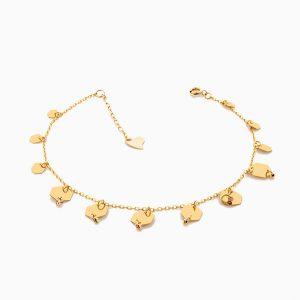 پابند طلا 18 عيار زنانه مدل AL0026