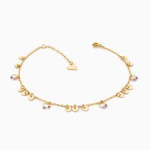 پابند طلا 18 عيار زنانه مدل AL0030