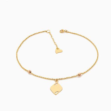 پابند طلا 18 عيار زنانه مدل AL0032