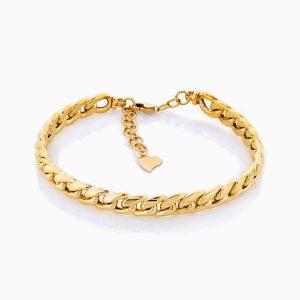 دستبند طلا 18 عيار زنانه مدل BL0178