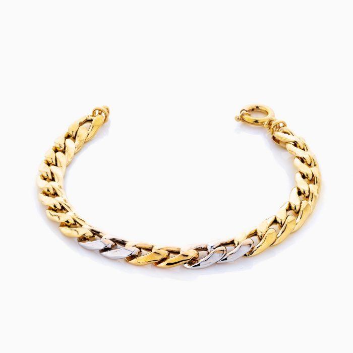 دستبند طلا 18 عيار زنانه مدل BL0181