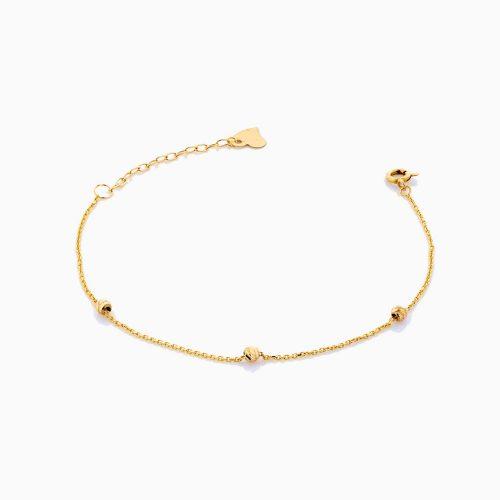 دستبند طلا 18 عیار زنانه مدل BL0184