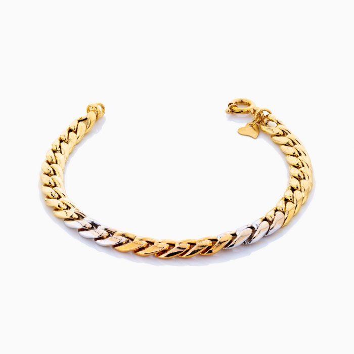 دستبند طلا 18 عيار زنانه مدل BL0186