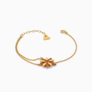 دستبند طلا 18 عيار زنانه مدل BL0188