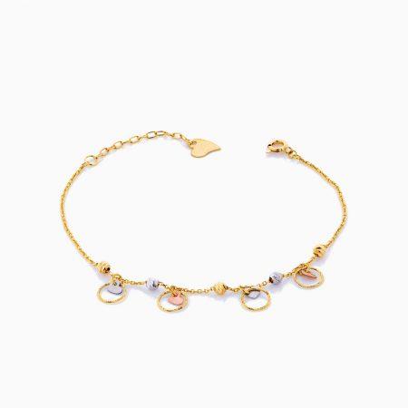 دستبند طلا 18 عيار زنانه مدل BL0191